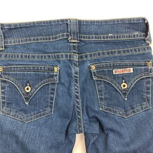 Hudson Signature Triangle Pocket Medium Wash Jeans